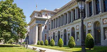 Panorámica de Madrid con Museo del Prado