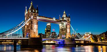 Panorámica nocturna por Londres