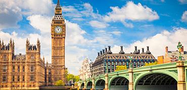 Tarjeta turística de Londres