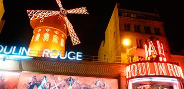 París Iluminado y Moulin Rouge